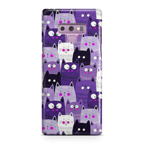 Cats Pattern Samsung Galaxy Note 9 Case