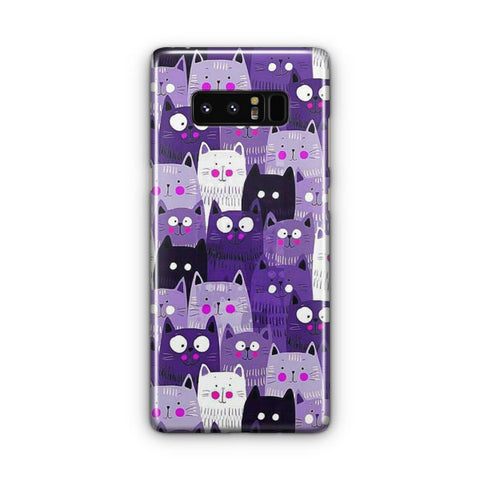 Cats Pattern Samsung Galaxy Note 8 Case