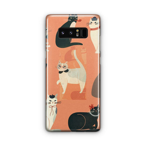 Cats Wearing Funny Samsung Galaxy Note 8 Case
