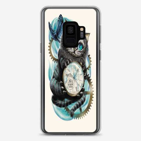 Cheshire Cat Not All Myself Samsung Galaxy S9 Case