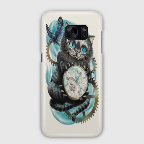 Cheshire Cat Not All Myself Samsung Galaxy S7 Edge Case
