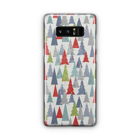 Christmas Trees Pattern Samsung Galaxy Note 8 Case