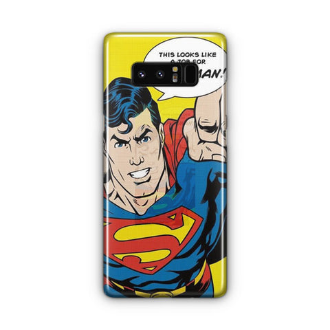 Classic Superman Samsung Galaxy Note 8 Case
