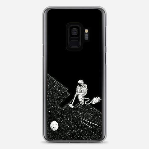 Clean the Space Samsung Galaxy S9 Case