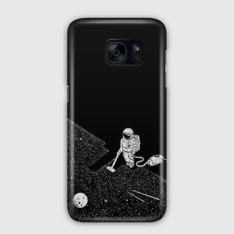 Clean the Space Samsung Galaxy S7 Case