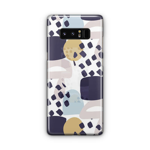Collage Colorful Pattern Samsung Galaxy Note 8 Case