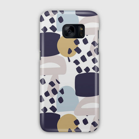 Collage Colorful Pattern Samsung Galaxy S7 Case