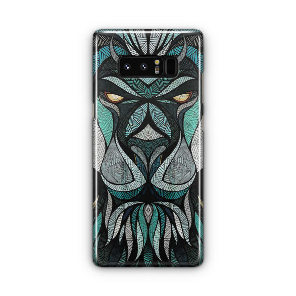 Abstract Lion Samsung Galaxy Note 8 Case