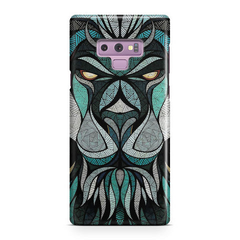 Abstract Lion Samsung Galaxy Note 9 Case