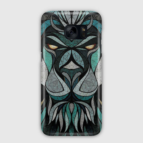 Abstract Lion Samsung Galaxy S7 Edge Case