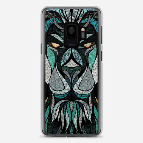 Abstract Lion Samsung Galaxy S9 Case