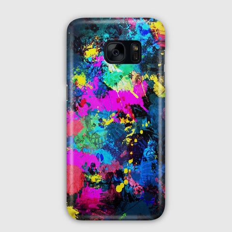 Colorful Elephant Samsung Galaxy S7 Edge Case