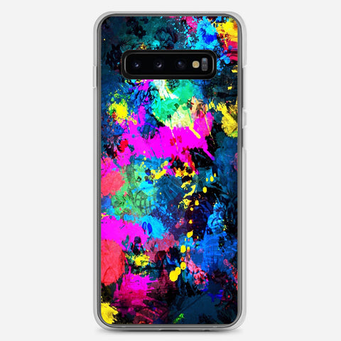 Colorful Elephant Samsung Galaxy S10 Plus Case