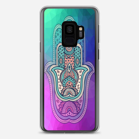 Colorful Spring Blossoms Samsung Galaxy S9 Case