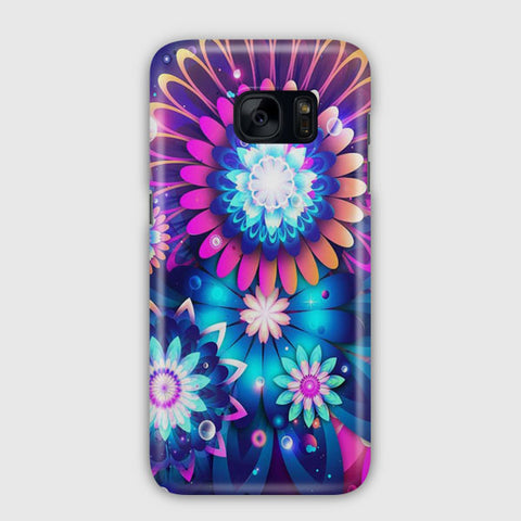 Colorful Watercolor Paintings Samsung Galaxy S7 Edge Case
