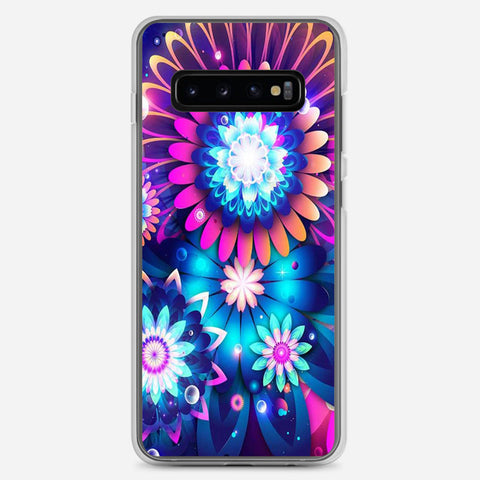 Colorful Watercolor Paintings Samsung Galaxy S10 Plus Case