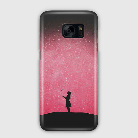Colors At Night Samsung Galaxy S7 Case