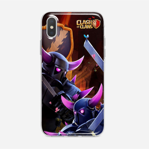 Clash of Clans Pekka iPhone XS Max Case
