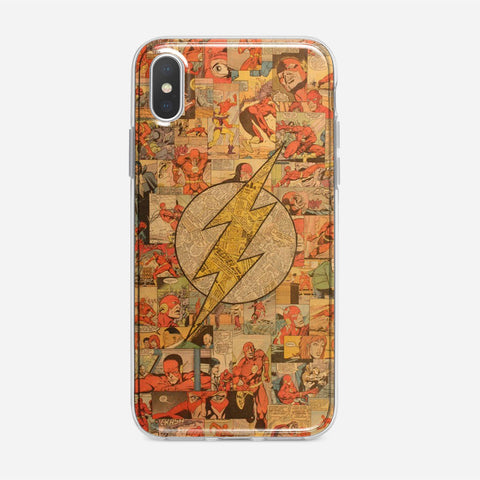 Classic The Flash Collage iPhone XS Max Case