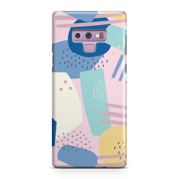 Abstract Scribble Samsung Galaxy Note 9 Case