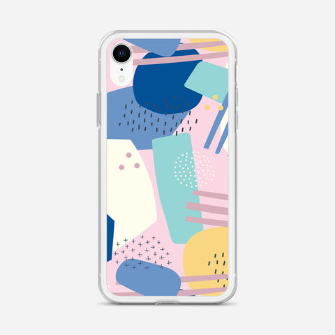 Abstract Scribble iPhone XR Case