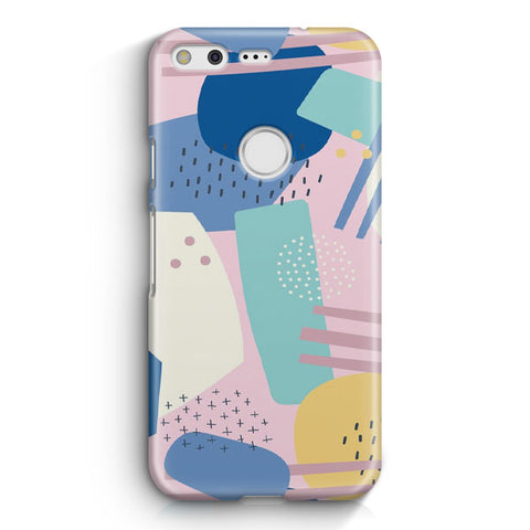 Abstract Scribble Google Pixel XL Case