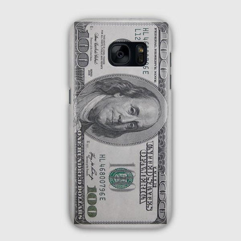 100 US Bill Samsung Galaxy S7 Edge Case