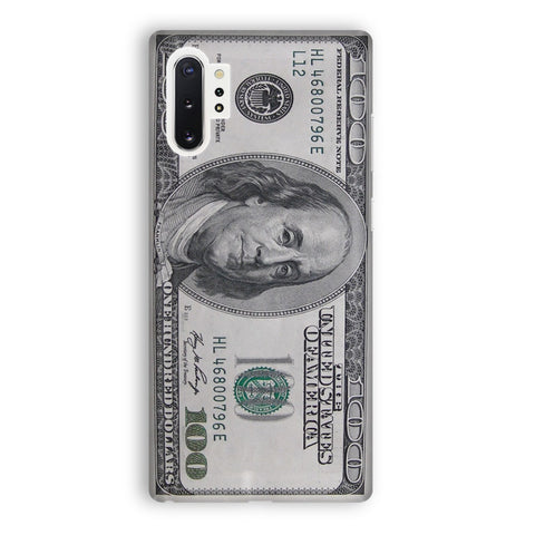 100 US Bill Samsung Galaxy Note 10 Plus Case