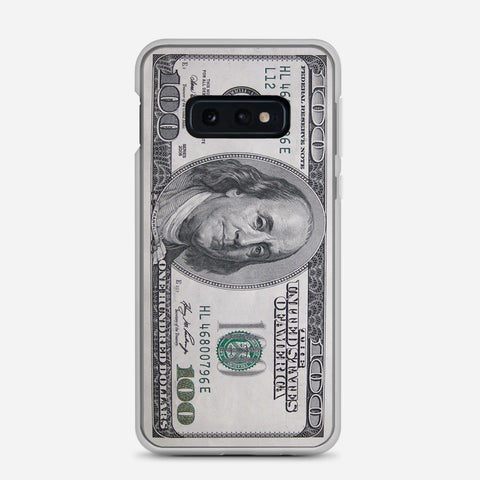 100 US Bill Samsung Galaxy S10e Case