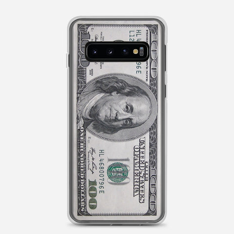 100 US Bill Samsung Galaxy S10 Case