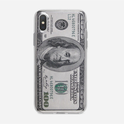 100 US Bill iPhone XS Case