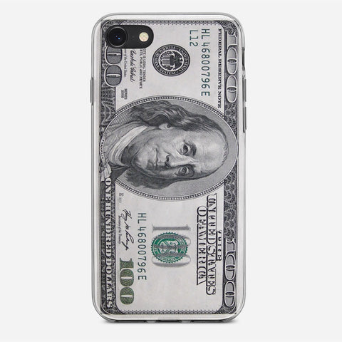 100 US Bill iPhone SE Case