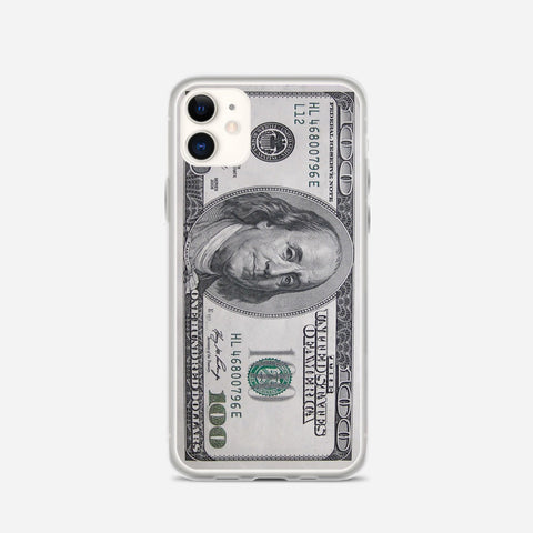 100 US Bill iPhone 11 Case