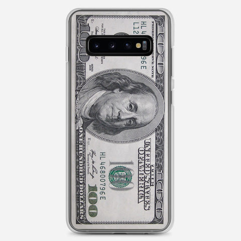 100 US Bill Samsung Galaxy S10 Plus Case