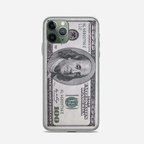 100 US Bill iPhone X Case