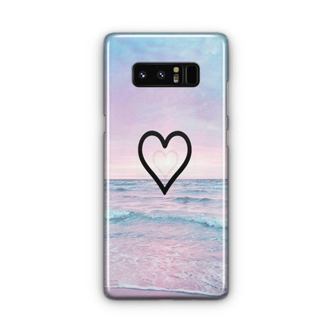 Corazon Estilo Samsung Galaxy Note 8 Case