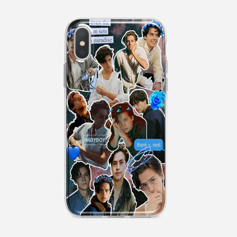 Cole Sprouse Collage iPhone XS Max Case