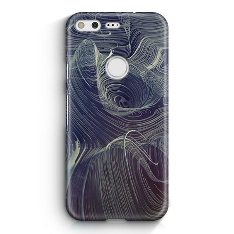 Curve Descent Pattern Google Pixel Case