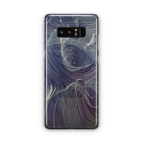 Curve Descent Pattern Samsung Galaxy Note 8 Case