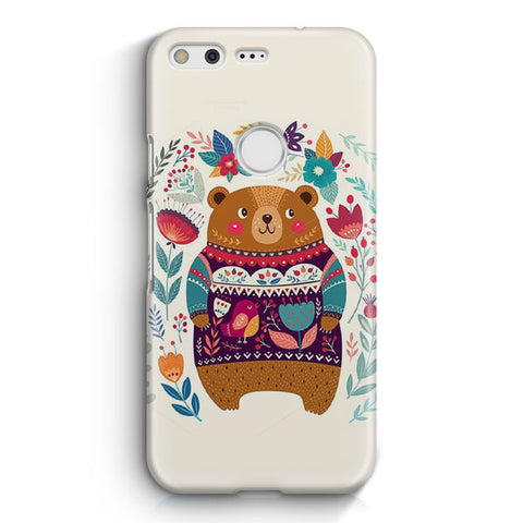 Cute Bear Google Pixel 2 XL Case