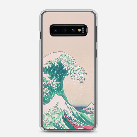 Aesthetic Great Wave Kanagawa Samsung Galaxy S10 Case