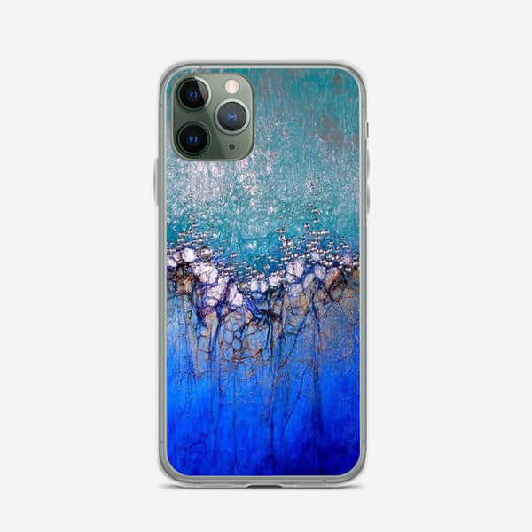 Abstract Tissue Paper iPhone X Case