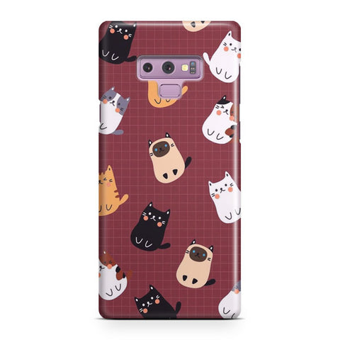 Cute Cats Samsung Galaxy Note 9 Case