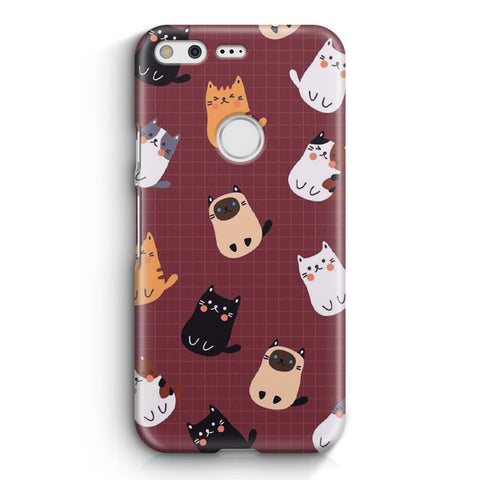 Cute Cats Google Pixel XL Case