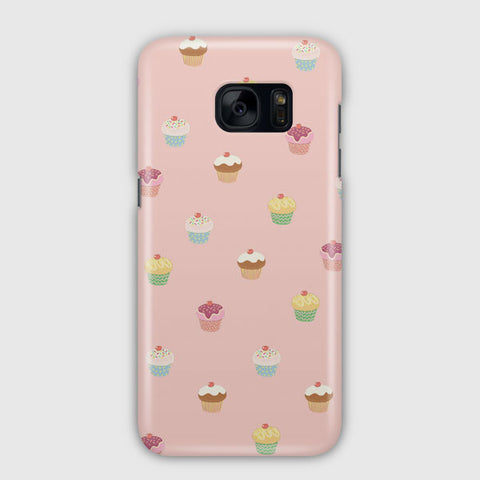 Cute Cupcakes Samsung Galaxy S7 Case