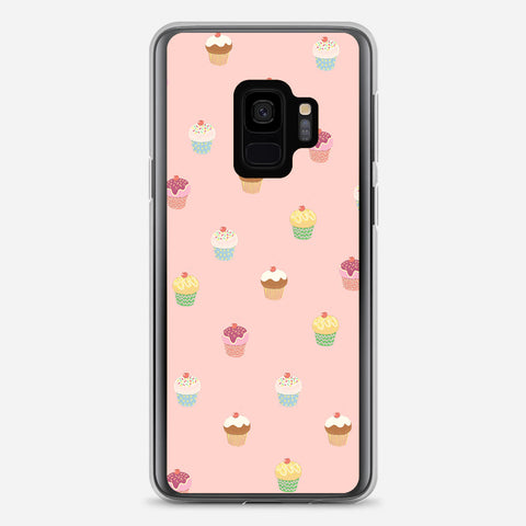 Cute Cupcakes Samsung Galaxy S9 Case
