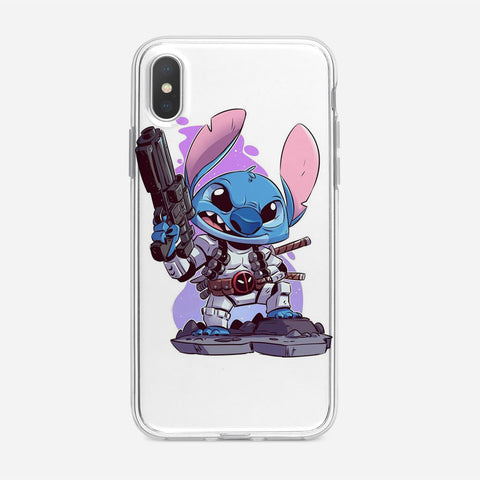 Cute Disney Stitch iPhone XS Case