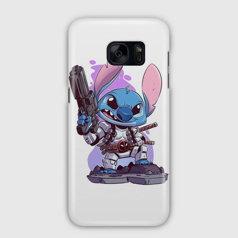 Cute Disney Stitch Samsung Galaxy S7 Edge Case