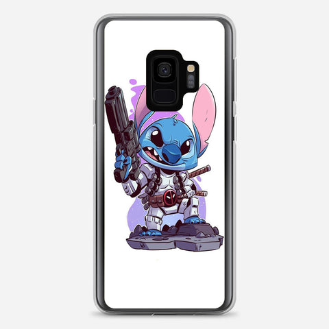 Cute Disney Stitch Samsung Galaxy S9 Case