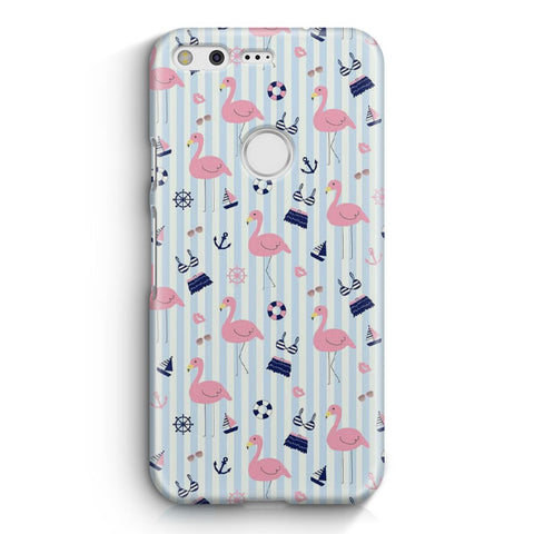 Cute Flamingos Pattern Google Pixel XL Case